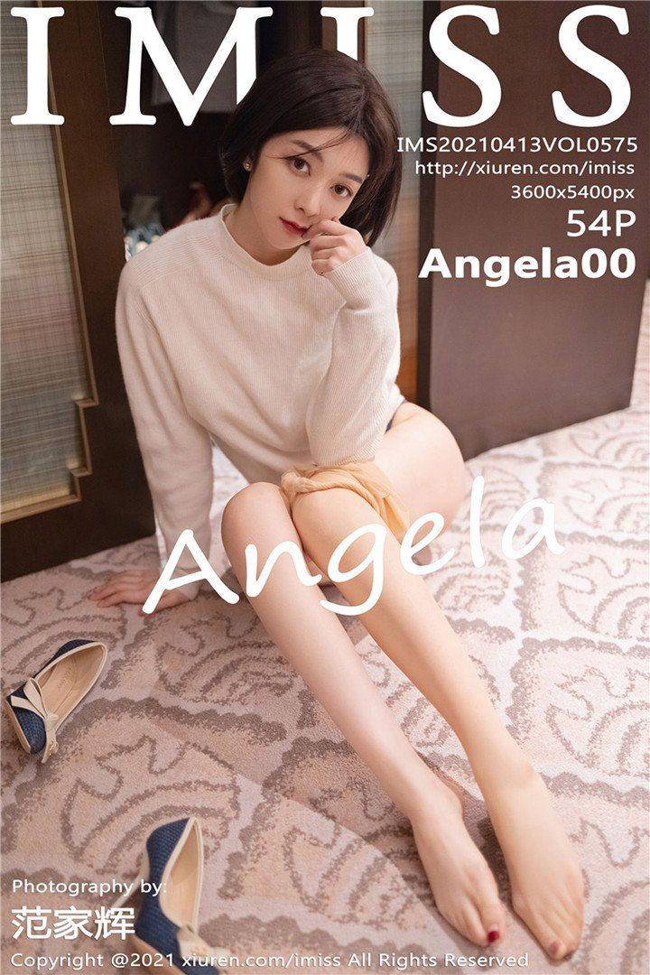 [IMISS爱蜜社]2021.04.13 VOL.575 Angela小热巴[54+1P/510M]