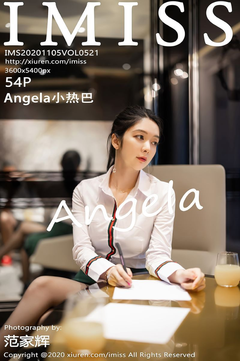 [IMISS爱蜜社]2020.11.05 VOL.521 Angela小热巴[54+1P/428M]