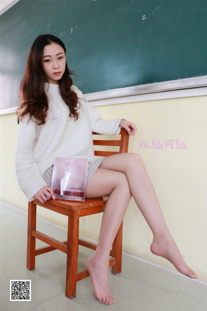 [MussGirl慕丝女郎]学妹系列06 学妹兼职代言品牌袜袜[93P/163M]