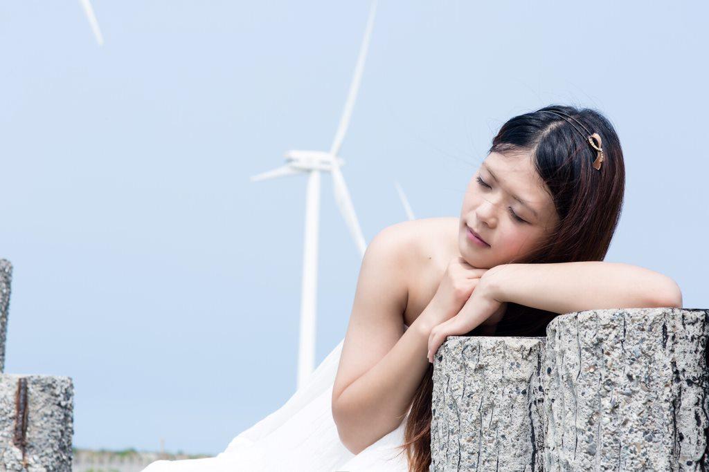 dress, illumiphoto, 一路有你, fashion, beach, changhua, sleepinggirl