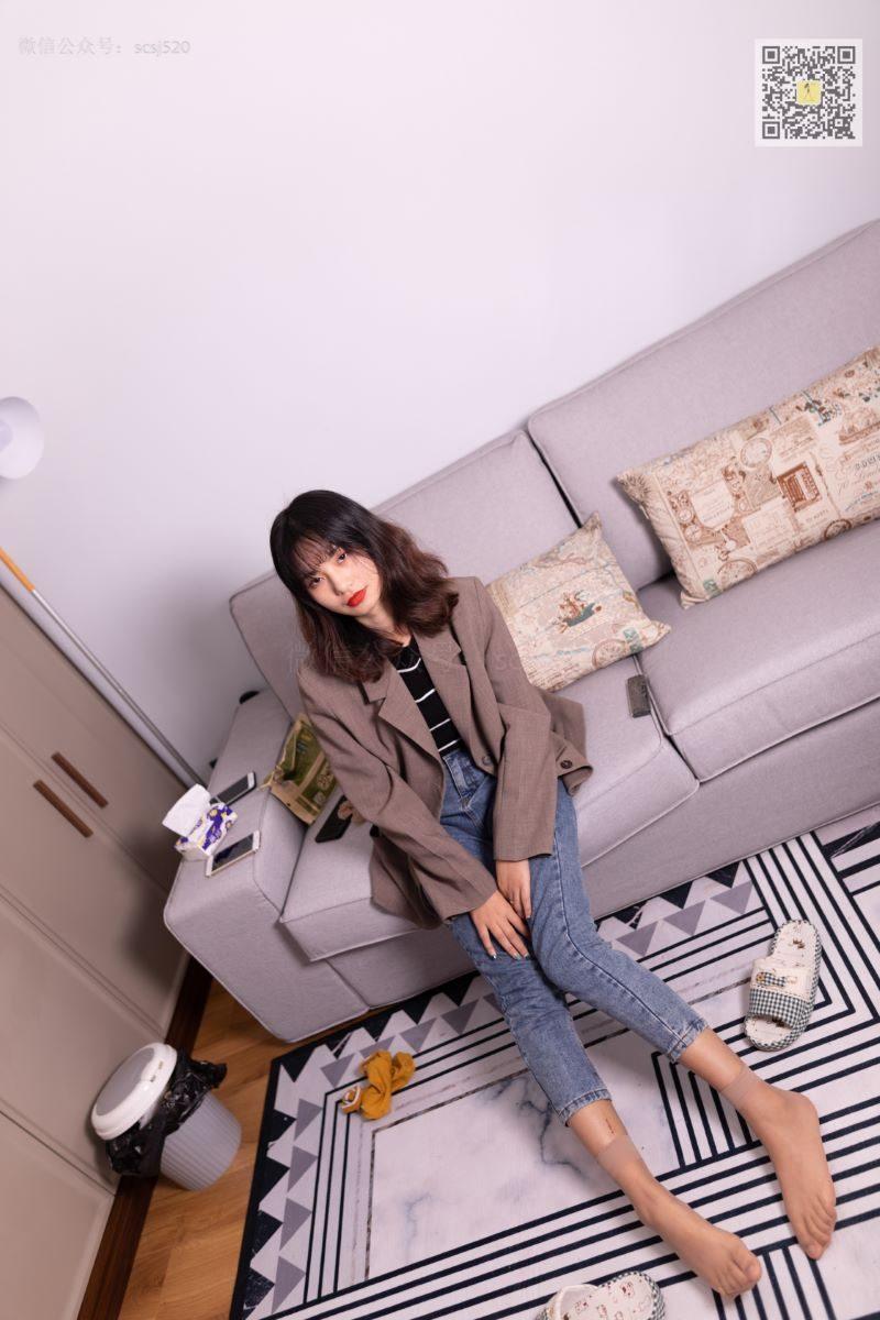 [LSS山茶摄影]NO.278 婷婷 丝袜棉袜哪个是你最爱[82P/0.98G]