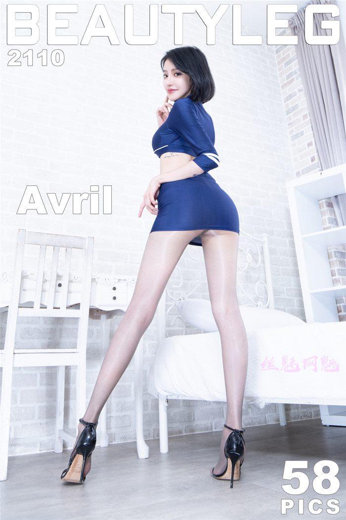 [Beautyleg]美腿寫真 2021.09.10 No.2110 Avril[58P/234M]