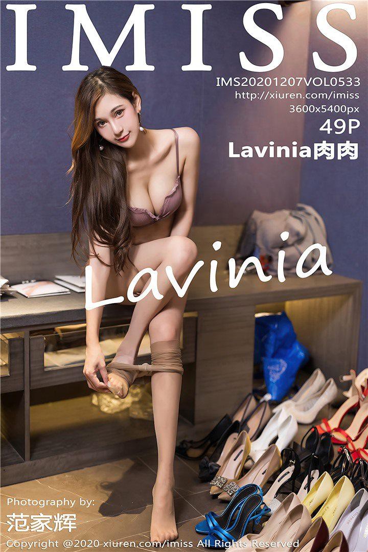 [IMISS爱蜜社]2020.12.07 VOL.533 Lavinia肉肉[49+1P/455M]