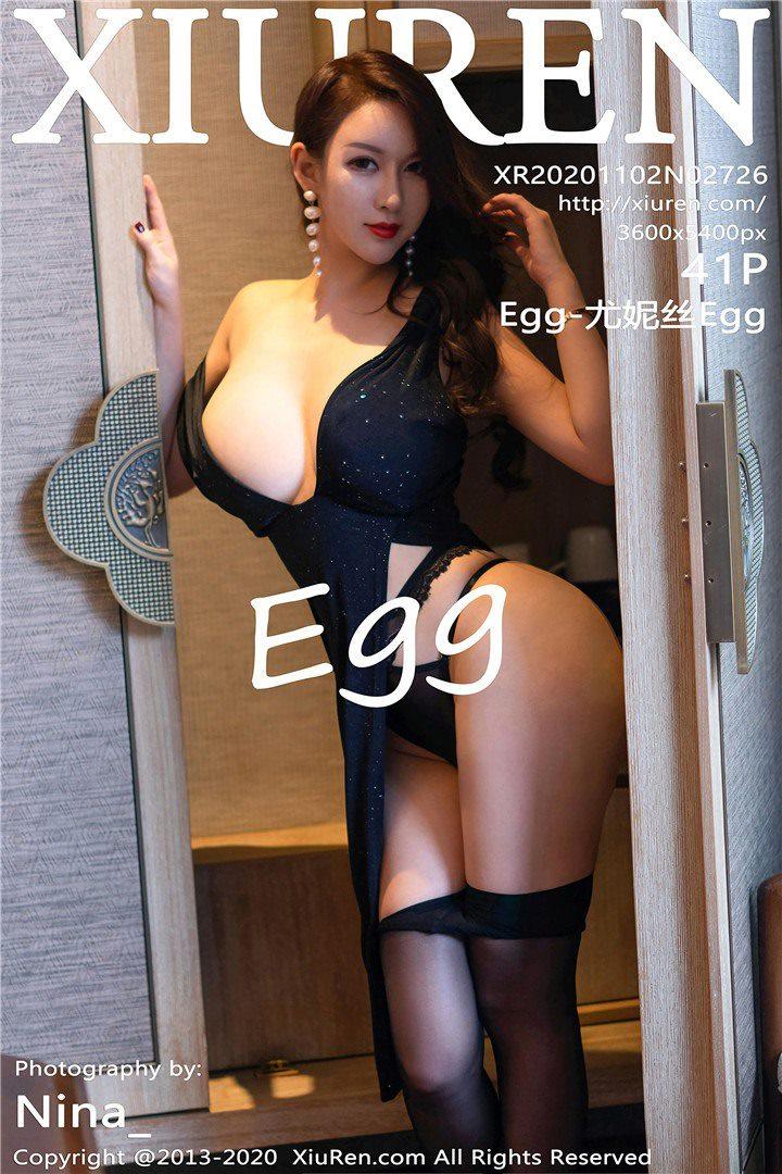 [XIUREN秀人网]XR20201102N02726 2020.11.02 Egg-尤妮丝Egg[41+1P/401M]