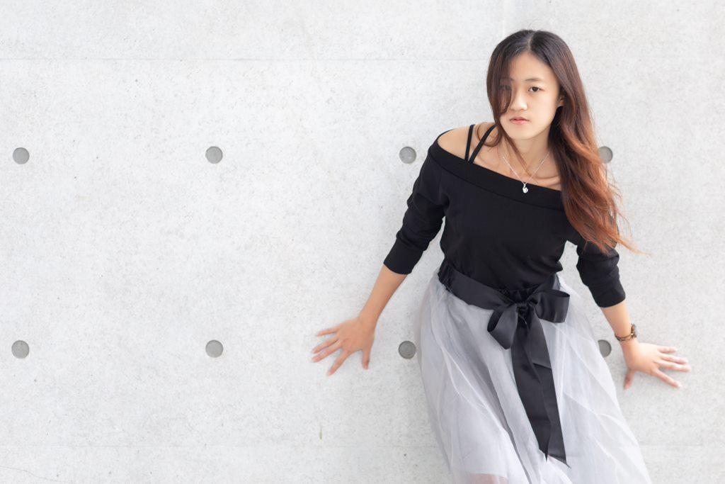 一路有你, portrait, 台灣高鐵, 高鐵彰化站, fashiondress, 彰化人像, 清水模, architectural concrete,