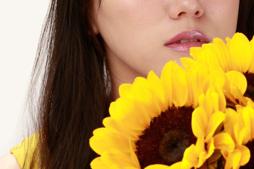 illumiphoto,一路有你,chiayi,flower, lips, woman,taiwanmodel,