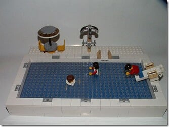 swimming pool lego